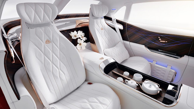 Maybach SUV interior