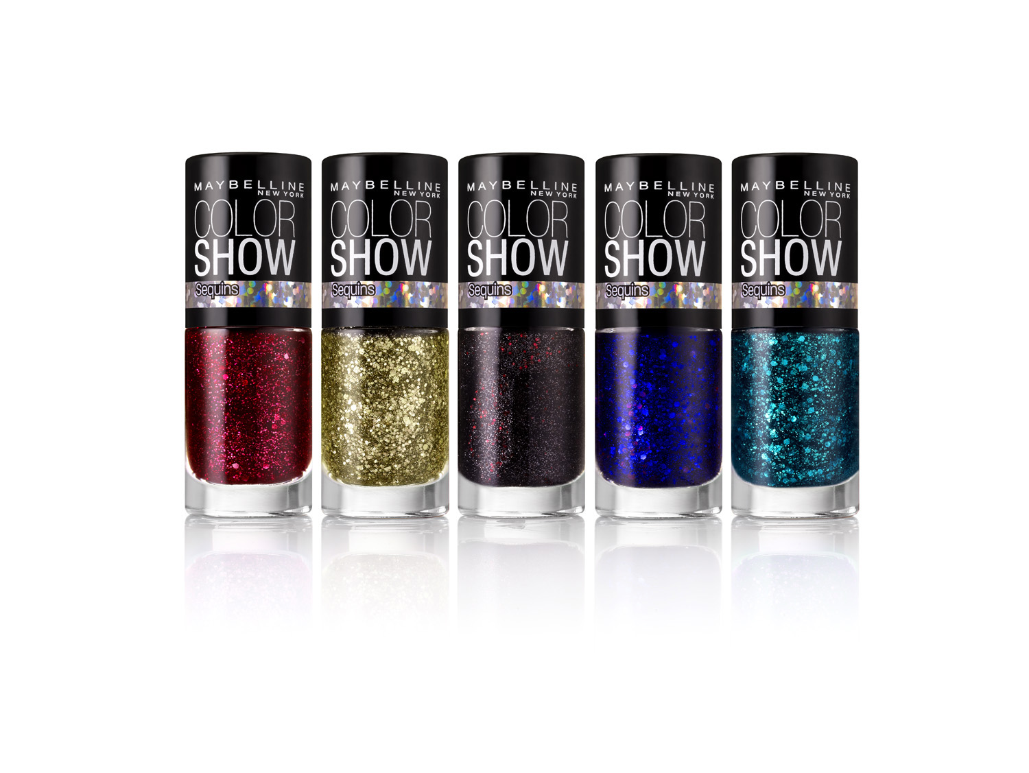 new maybelline ny color show fashion prints nail stickers and sequins the shades of u. Black Bedroom Furniture Sets. Home Design Ideas