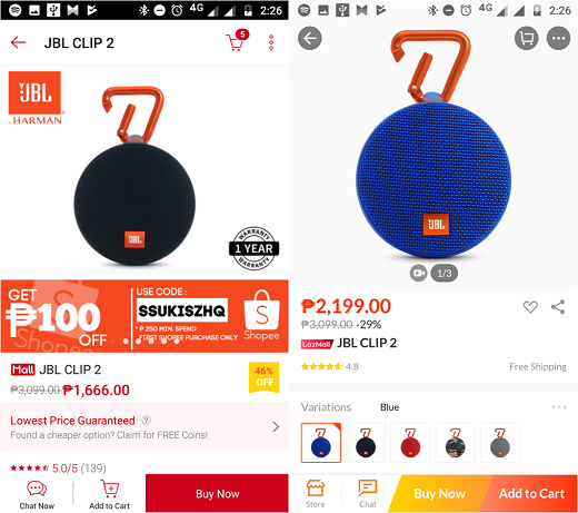 Shopee Lowest Price Guarantee LPG
