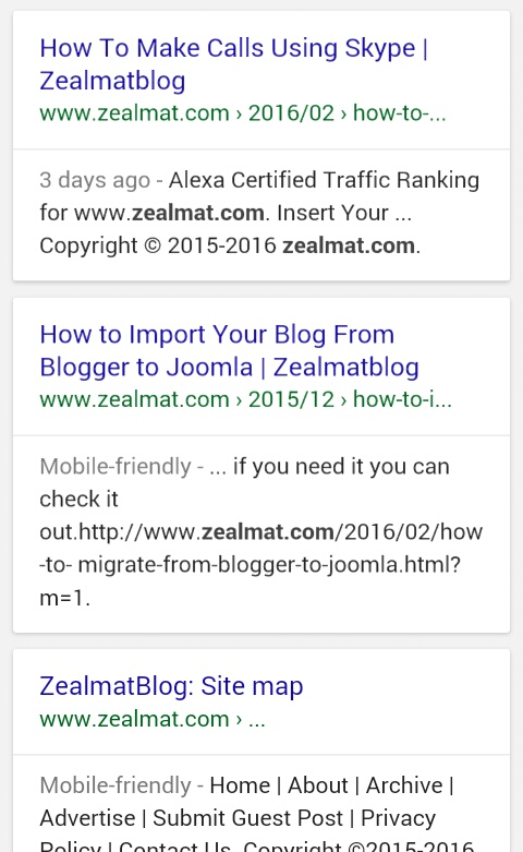 How To Be On Google First Page