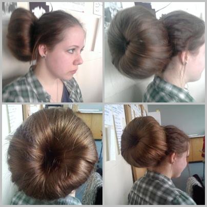 Scaraba Us Frisur Gigantischer Donut