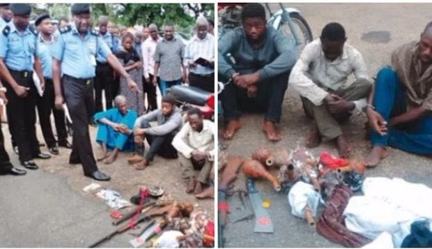 Four men lure their victim to death, steal his money and body parts in Oyo State