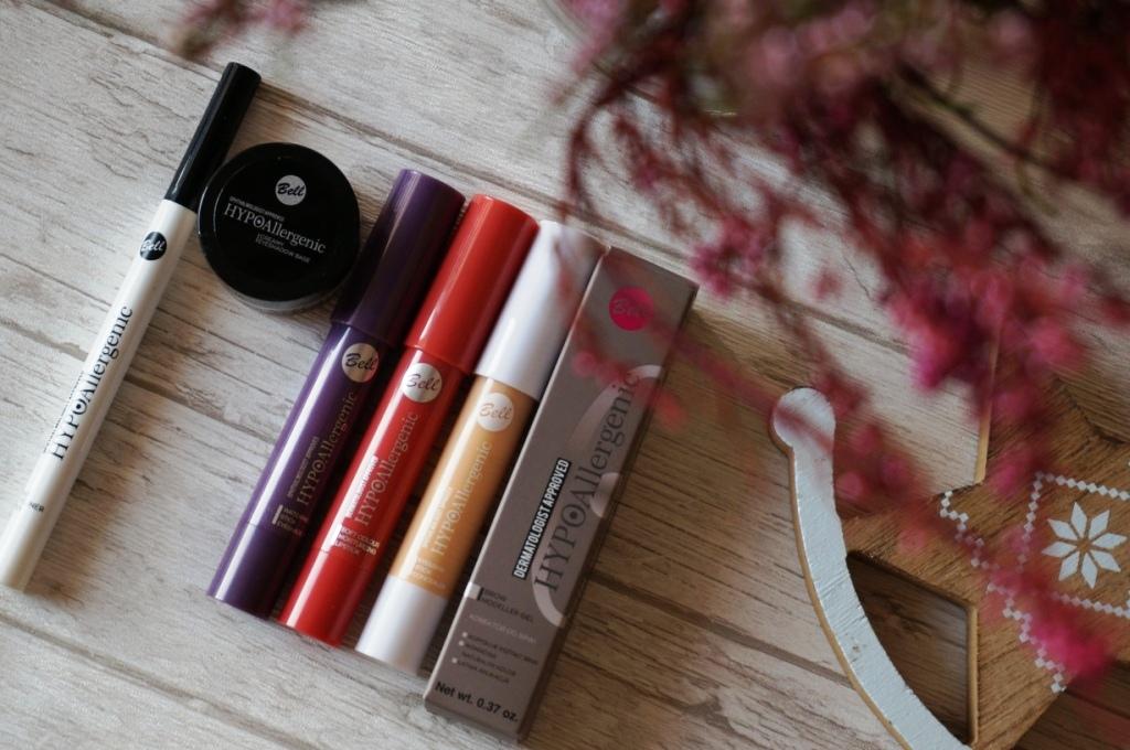 Bell HYPOallergenic - kosmetyki do makijażu oczu i ust