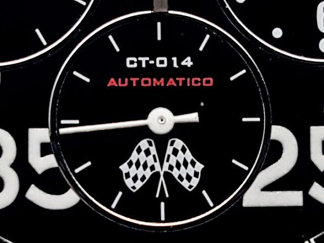 大阪 梅田 ハービスプラザ WATCH 腕時計 ウォッチ ベルト 直営 公式 CT SCUDERIA CTスクーデリア Cafe Racer カフェレーサー Triumph トライアンフ Norton ノートン フェラーリ CITY RACER シティレーサー チェッカーフラッグ バレンタイン プレゼント 機械式 自動巻き オートマチック CS10504