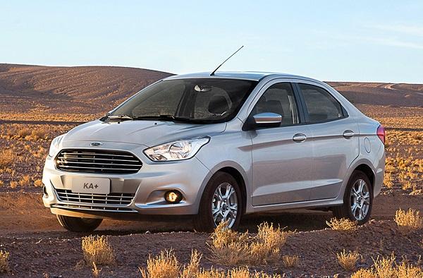 Ford Ka+ Sedán