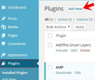 menambah plugin ~ cara membuat blog wordpress self hosting