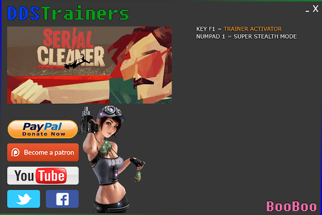 SerialCleaner.Trainer Serial Cleaner Trainer Games Mods