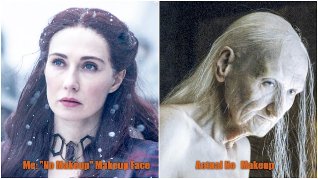 the red woman, game of thrones, season 6, premiere, makeup