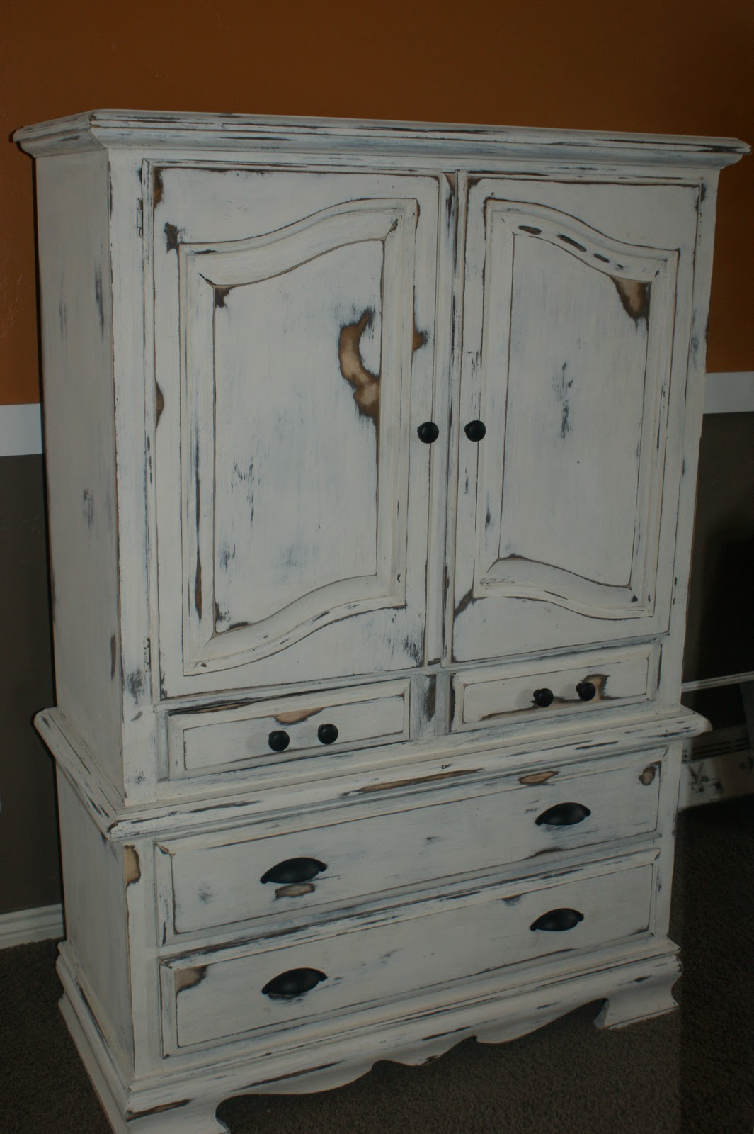 A Little Chic: Shabby Chic Armoire