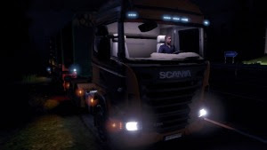Light in Cabin For Scania mod