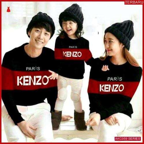AKC059S42 Sweater Couple Paris Anak 059S42 Keluarga Kenzo BMGShop