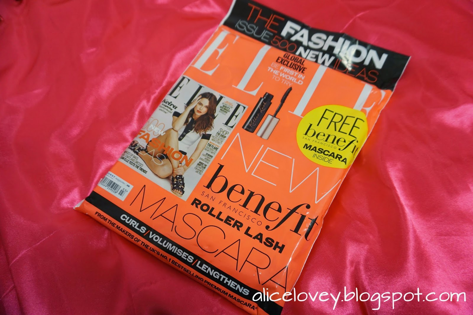 5db391a83f0 I am sure many of us LOVE Benefit products and just for £4.00 for the Elle  March Edition magazine, you are able to get a FREE Benefit newest line of  mascara ...