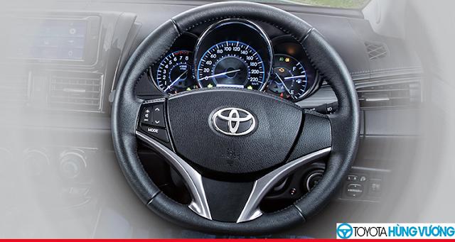 So sánh Toyota Vios với Ford Fiesta 14