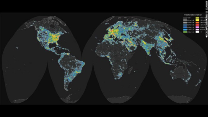 WORLD ATLAS OF ARTIFICIAL SKY BRIGHTNESS