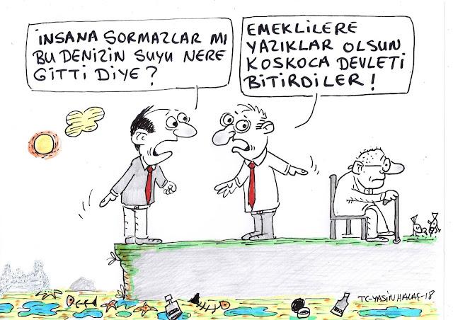 emekli karikatürü