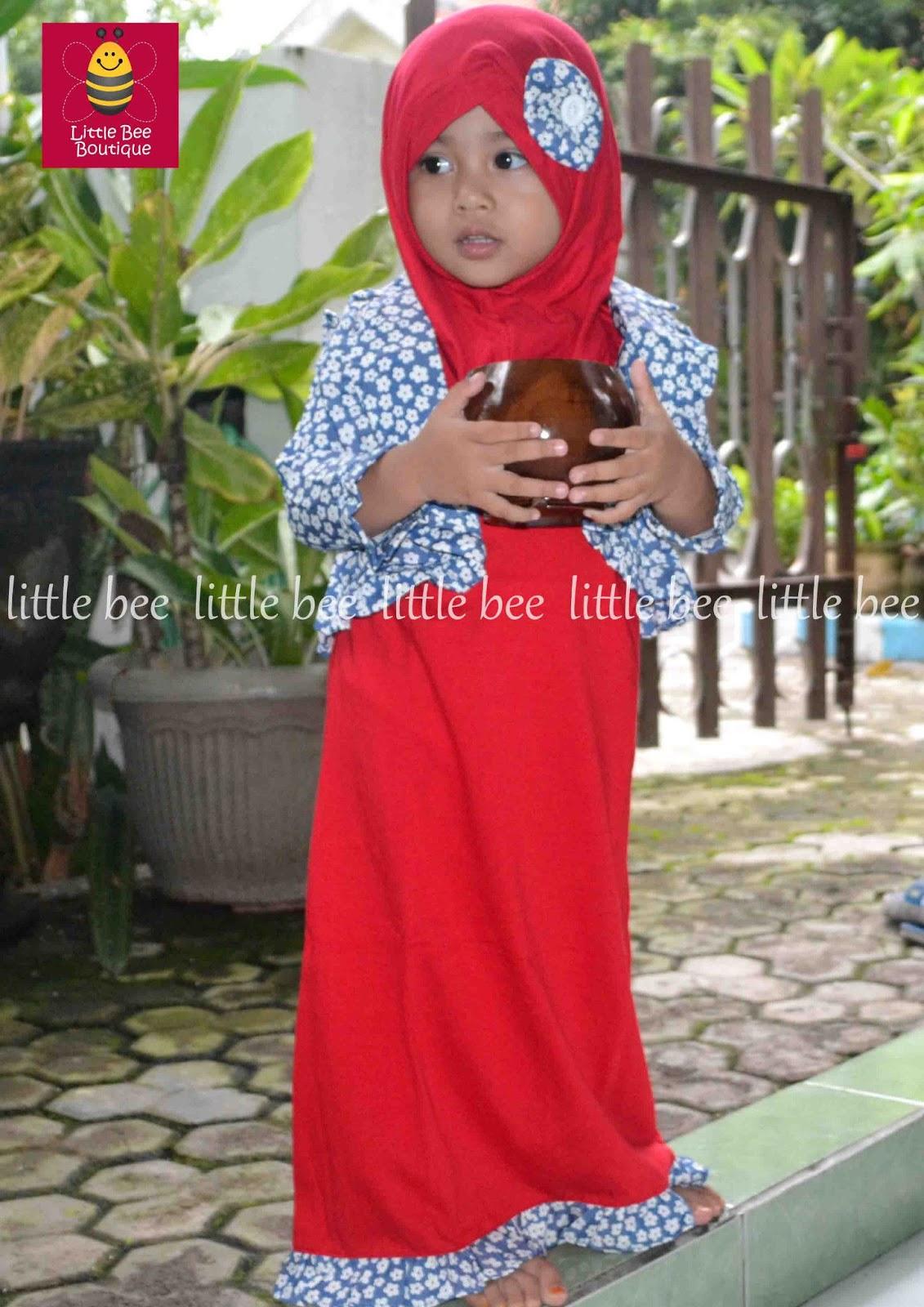 Contoh Baju Muslim Anak Perempuan Terbaru