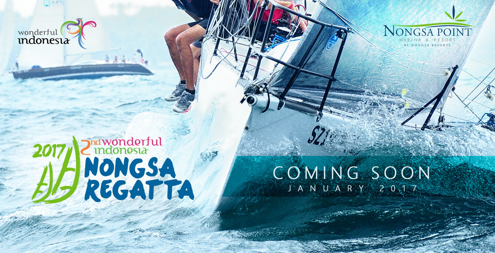2nd Wonderfull Indonesia Nongsa Regatta 2017
