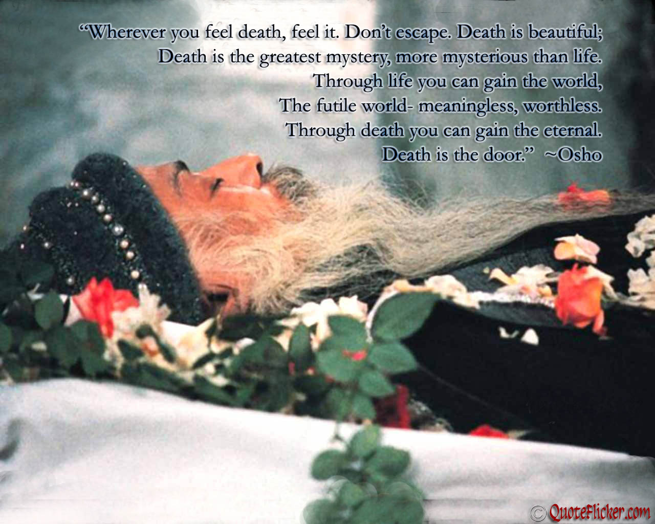 Osho Quotes On Death. QuotesGram