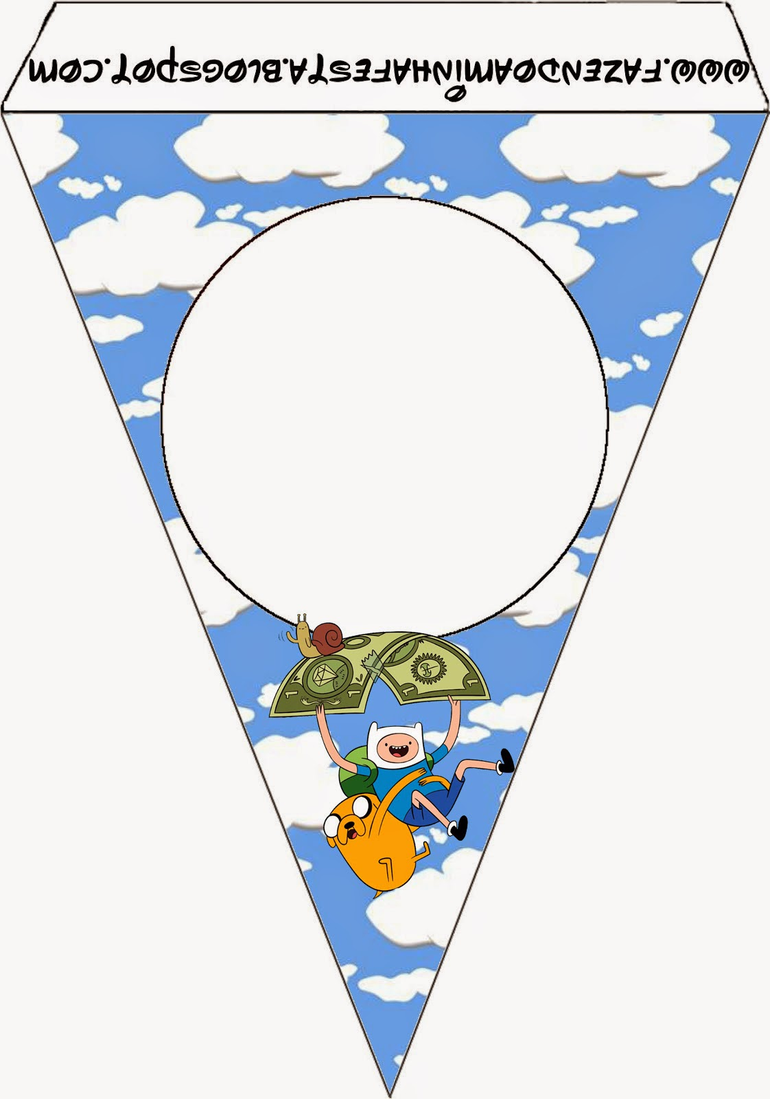 Adventure Time Free Party Printables Oh My Fiesta In English