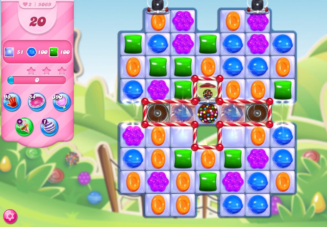 Candy Crush Saga level 5069