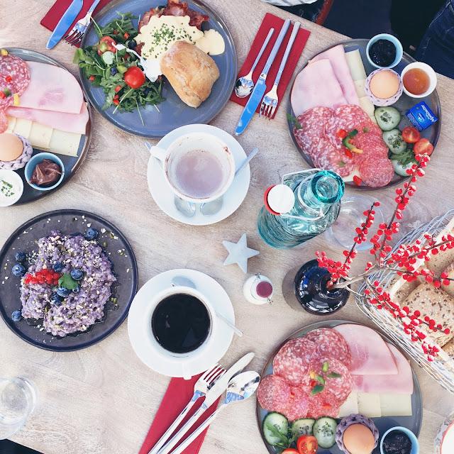 grinsestern, frühstück, grinsesternmädls, breakfast, mehrzeit, frei, blau machen