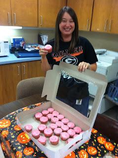 Brandi's Strawberry Cupcakes