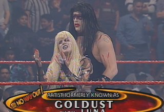 WWE / WWF In Your House 20: No Way Out of Texas - Goldust and Luna Vachon