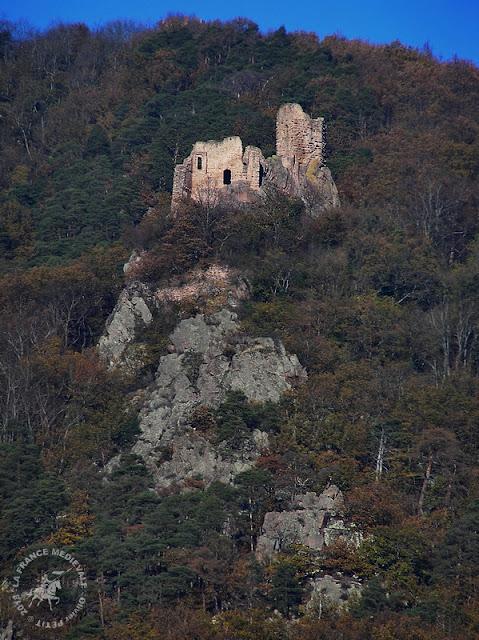 RIBEAUVILLE (68) - Château du Girsberg