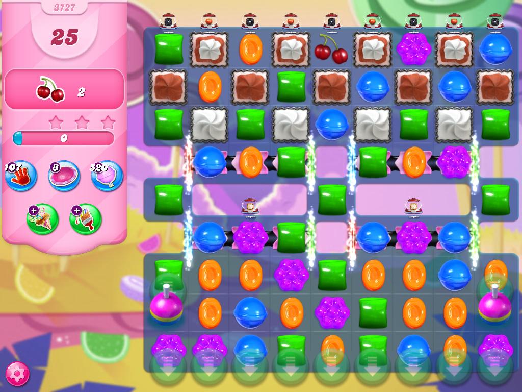 Candy Crush Saga level 3727