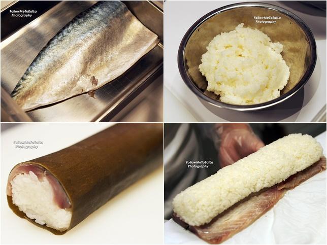3 Simple Ingredient Of Saba-Sugatazushi 🍣🍣🍣 Mackerel, Sushi Rice & Japanese Kelp (Kombu) 🍣🍣🍣