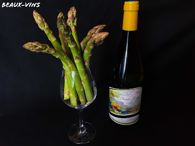 Beaux-Vins accord met vin asperge printemps