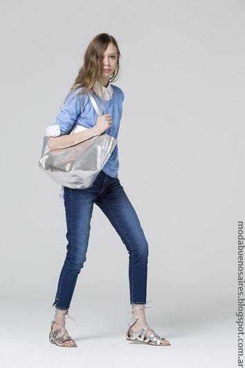 Jeans de moda mujer Carmela Achaval primavera verano 2017. Moda 2017.