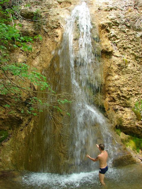 Ускутский водопад