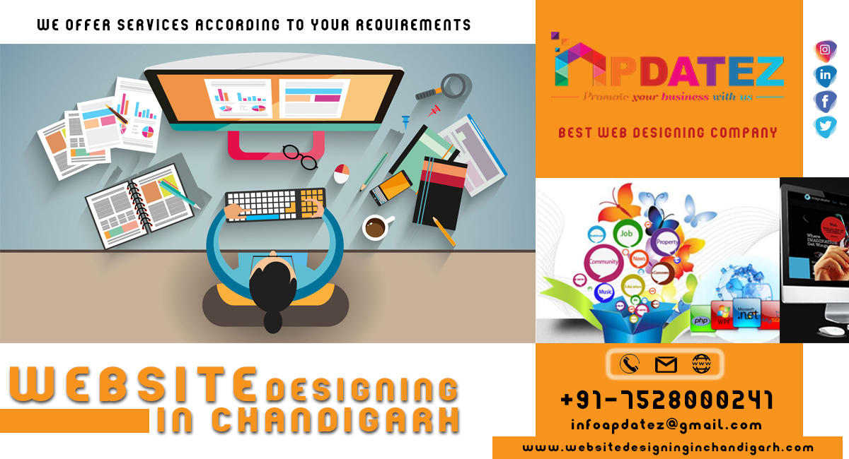 Best Web Design Company in Chandigarh || Promote Your Business With