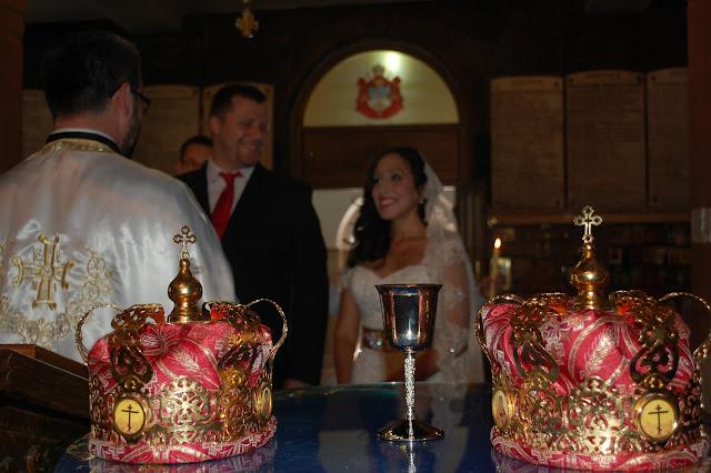 Mi boda ortodoxa serbia, coronas