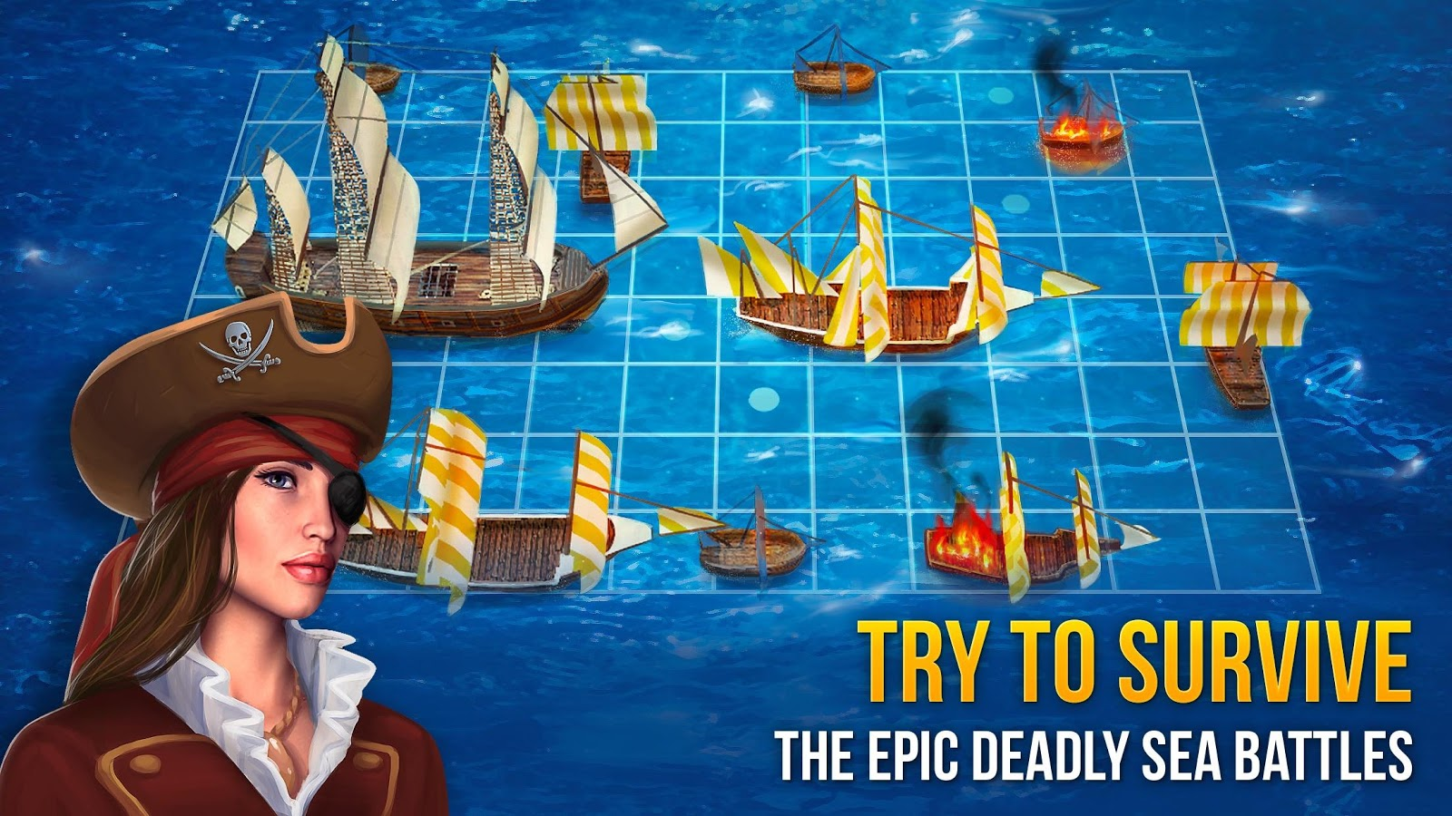 Battle Sea 3D Naval Fight MOD APK terbaru
