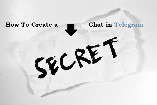 Secret chat in Telegram