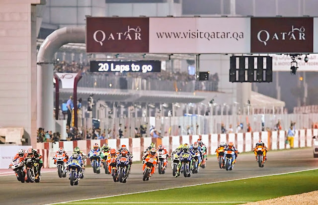 Momen Seru dan Terbaik MotoGP Qatar 2017