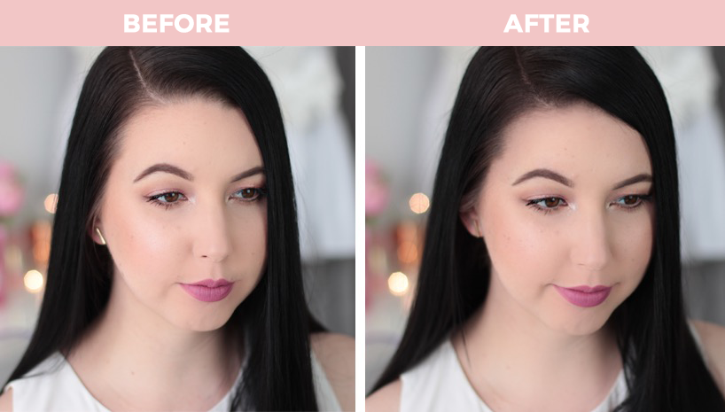 L'Oreal Paris Magic Retouch Spray Before And After