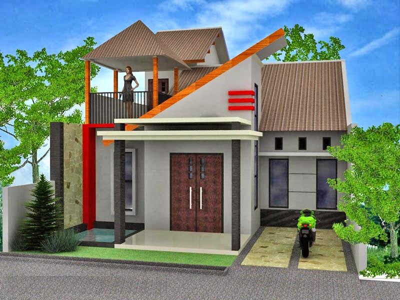 Rumah  Minimalis Sederhana  2 Lantai  Desain Rumah