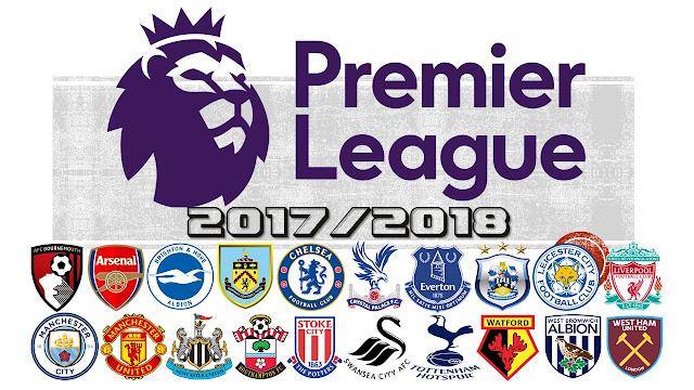 English Premier League 2017/18 Jadual, Keputusan dan Carta Kedudukan