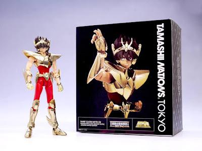 Revelado el diseño de la caja de Seiya de Pegaso V2 EX ~Gold Limited Edition~