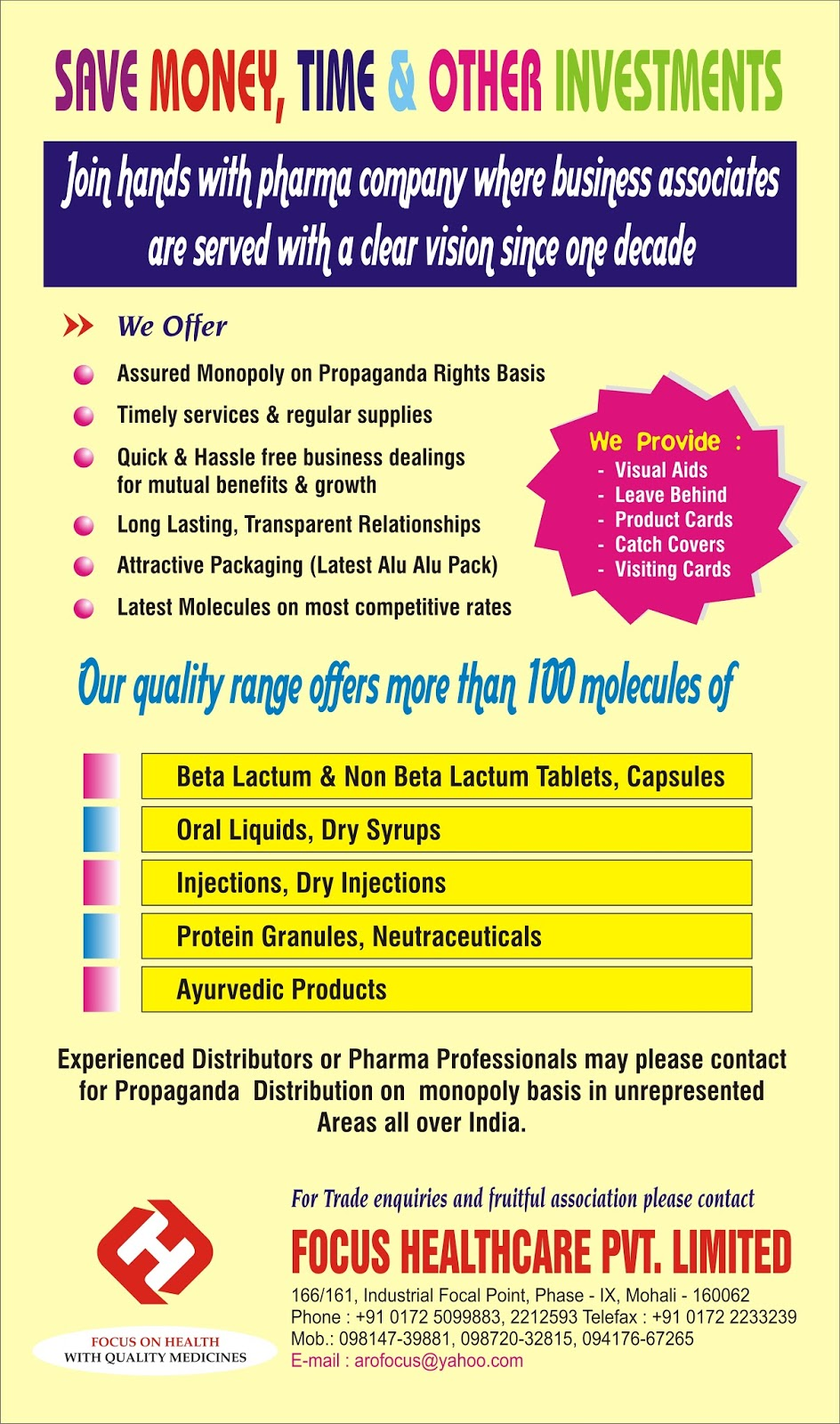Focus Healthcare Pvt. Ltd.