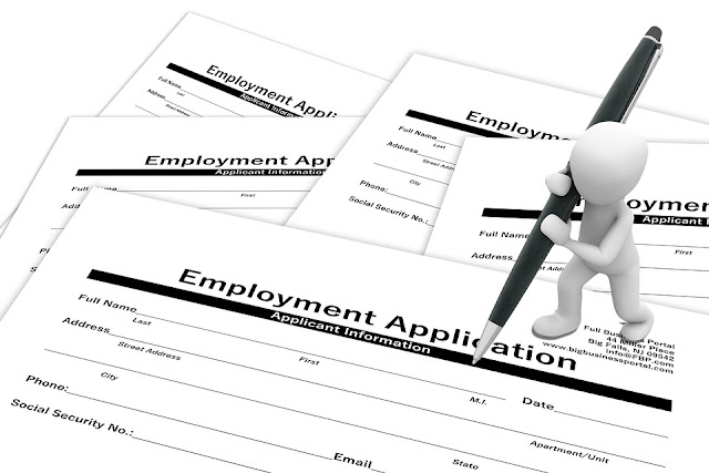 Job description, job posting, recruiter, cover letter, employment