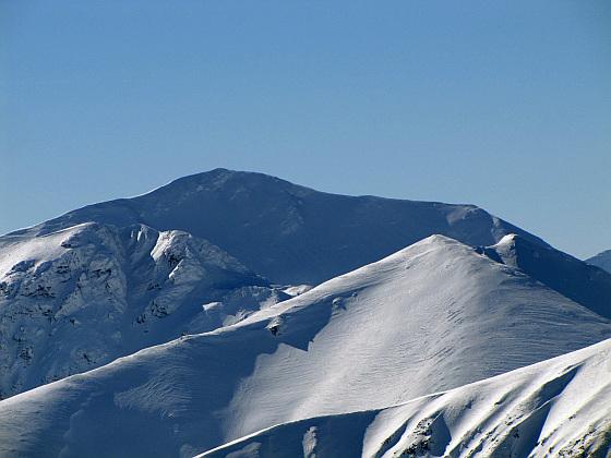 Bystra (słow. Bystrá, 2248 m n.p.m.) - najwyższy szczyt Tatr Zachodnich.