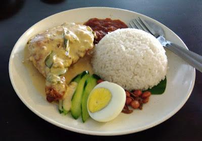 butter milk nasi lemak mamalee