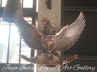 Garuda Tembaga | kerajinan tembaga |  kerajinan tembaga dan kuningan
