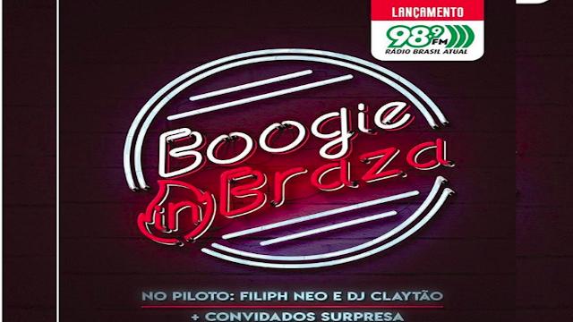 """Em parceria com a Radio Brasil Atual, a produtora Boogie Naipe lança o programa de radio """"Boogie in Braz"""""""