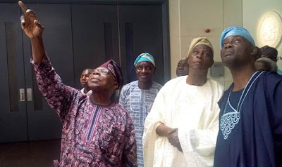 Falae Visits Obasanjo, says Buhari has failed, we must come together to defeat failure