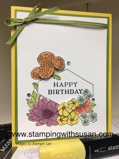 Stampin' Up!, www.stampingwithsusan.com, Accented Blooms, Stampin' Blends